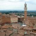 Siena fiera mercato in Piazza del Campo