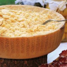 Parmigiano Reggiano di sola razza Bruna
