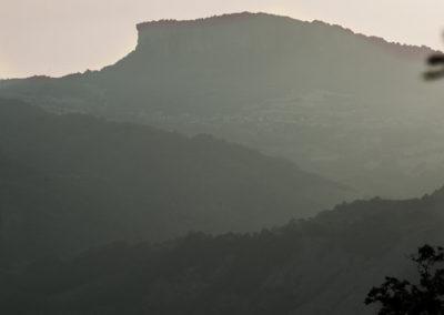 Panorama sulla Pietra di Bismantova