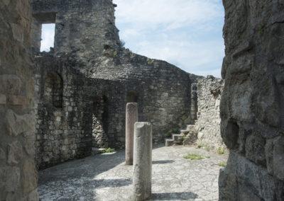 Castello di Canossa: resti della cripta