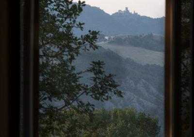Panorama sul castello delle Carpinete