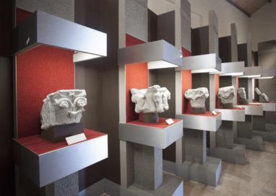 Museo Naborre Campanini: capitelli