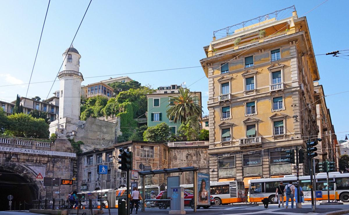 Piazza portello Genova  