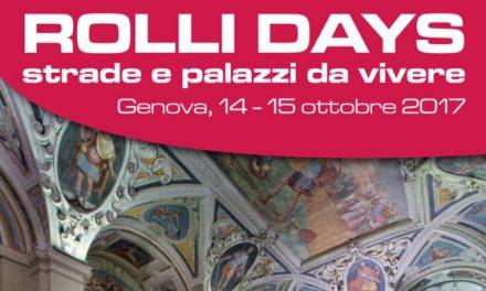 Genova Rolli Days ottobre 2017