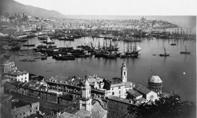 Veduta di Genova da San teodoro 1860