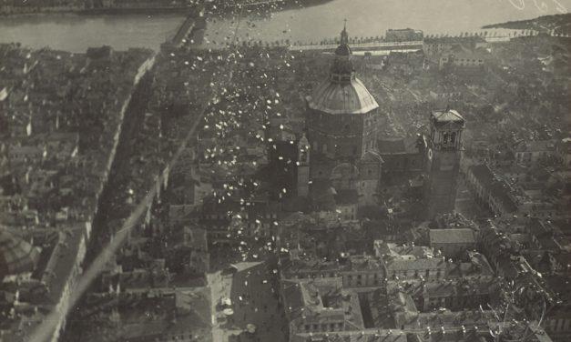 Veduta aerea Duomo di Pavia